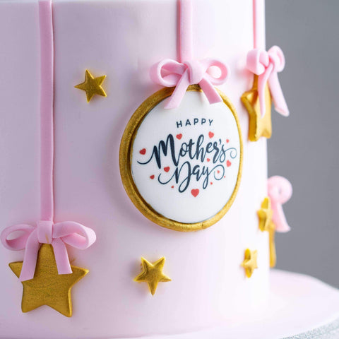"Mother's Day Cake 5"" - Designer Cake - B'Sweetbites - - Eat Cake Today - Birthday Cake Delivery - KL/PJ/Malaysia"