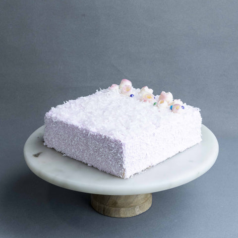 "Mother's Day Pink Lamington 7"" - Mousse Cake - Cake Sense - - Eat Cake Today - Birthday Cake Delivery - KL/PJ/Malaysia"