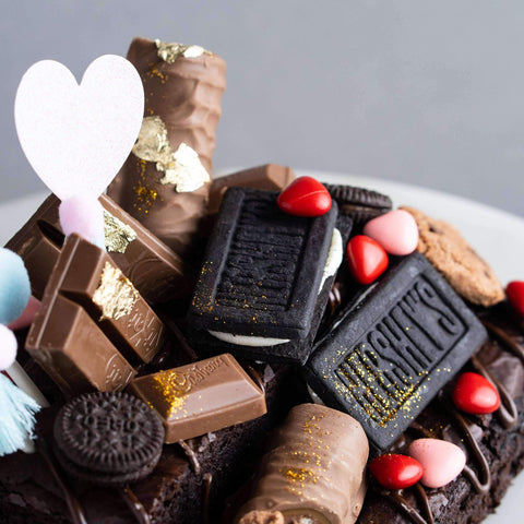 Mum's Brownie Box - Brownies - Mr & Mrs Brownie - - - - Eat Cake Today - Birthday Cake Delivery - KL/PJ/Malaysia