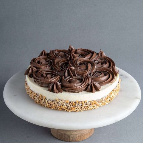 Nutty Choco Cheesecake - Cheesecakes - Purple Monkey - - - - Eat Cake Today - Birthday Cake Delivery - KL/PJ/Malaysia