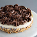 Nutty Choco Cheesecake - Cheesecakes - Purple Monkey - - Eat Cake Today - Birthday Cake Delivery - KL/PJ/Malaysia