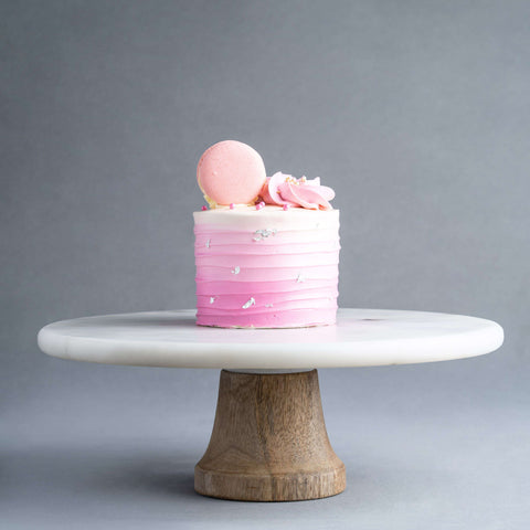 "Ombre Pink Cake 4"" - Designer Cake - Souka - - Eat Cake Today - Birthday Cake Delivery - KL/PJ/Malaysia"