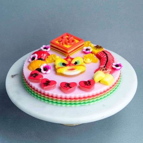 "Ong Lai Jelly Cake 9"" - Jelly Cakes - Q Jelly Bakery - - Eat Cake Today - Birthday Cake Delivery - KL/PJ/Malaysia"