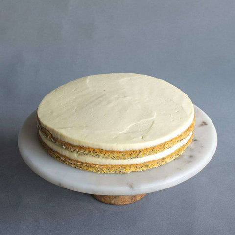 "Orange Poppy Seed Cake 10"" - Fruits Cake - Little Tee Cakes - - - - Eat Cake Today - Birthday Cake Delivery - KL/PJ/Malaysia"