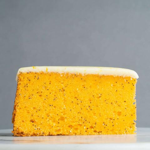 "Orange Poppyseed Cake 9"" - Fruits Cake - Madeleine Patisserie - - - - Eat Cake Today - Birthday Cake Delivery - KL/PJ/Malaysia"