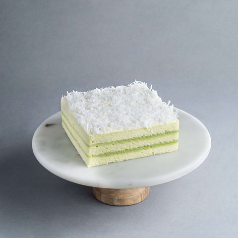 "Pandan Layer Cake 6"" - Malaysian Flavor - Tedboy Bakery - - Eat Cake Today - Birthday Cake Delivery - KL/PJ/Malaysia"