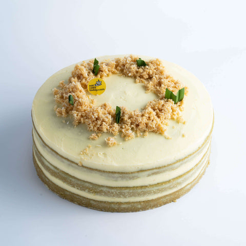 Pandan Coconut Cake - Malaysian Flavor - Ennoble by Elevete - - Eat Cake Today - Birthday Cake Delivery - KL/PJ/Malaysia