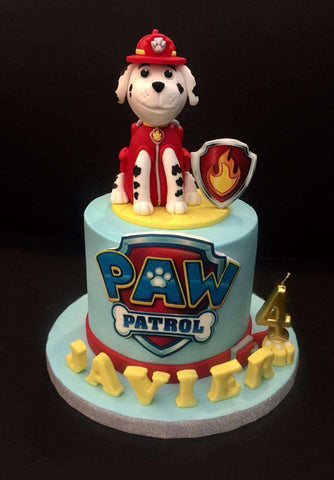 Paw Patrol Cake 4.5 inch - Customized Cakes - B'Sweetbites - - Eat Cake Today - Birthday Cake Delivery - KL/PJ/Malaysia