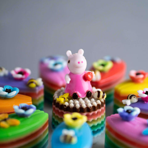 Peppa Pig Jelly Cake - Jelly Cakes - Q Jelly Bakery - - - - Eat Cake Today - Birthday Cake Delivery - KL/PJ/Malaysia