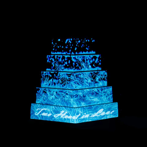 Projection Mapping Cake - Designer Cake - Ennoble by Elevete - - Eat Cake Today - Birthday Cake Delivery - KL/PJ/Malaysia