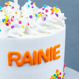 Rainbow Cake - Buttercakes - In The Clouds Cakes - - Eat Cake Today - Birthday Cake Delivery - KL/PJ/Malaysia