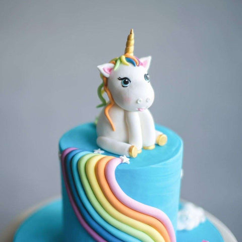 Birthday Cake Delivery Rainbow Pony 5