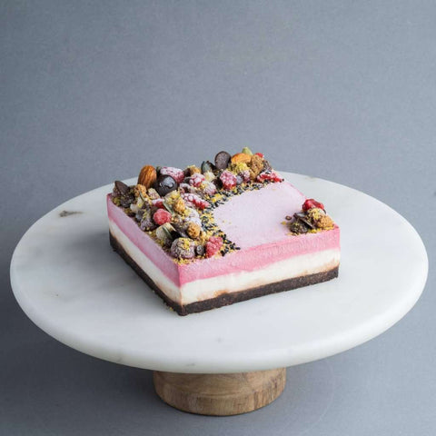 "Raspberry Dream Cake 5"" - Healthy Cakes - The Honest Treat - - Eat Cake Today - Birthday Cake Delivery - KL/PJ/Malaysia"