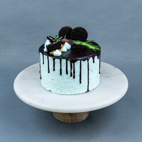 "Refreshing Chocolate Peppermint Mint Cake 6"" - Mousse Cakes - RE Birth Cake - - Eat Cake Today - Birthday Cake Delivery - KL/PJ/Malaysia"