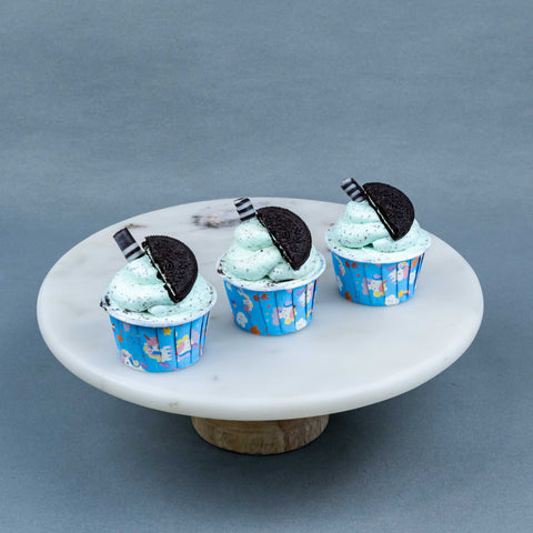 Refreshing Peppermint Mint Cupcakes - Cupcakes - RE Birth Cake - - Eat Cake Today - Birthday Cake Delivery - KL/PJ/Malaysia