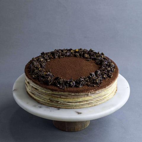 "Rich Nutella Mille Crepe 9"" - Mille Crepe - Cake Tella - - Eat Cake Today - Birthday Cake Delivery - KL/PJ/Malaysia"