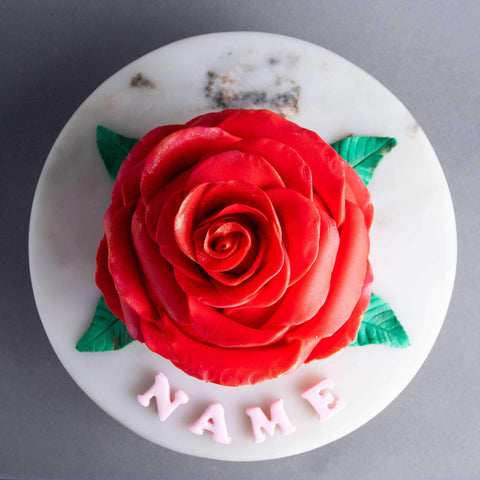 "Ring O' Roses Cake 5"" - Designer Cake - B'Sweetbites - - - - Eat Cake Today - Birthday Cake Delivery - KL/PJ/Malaysia"
