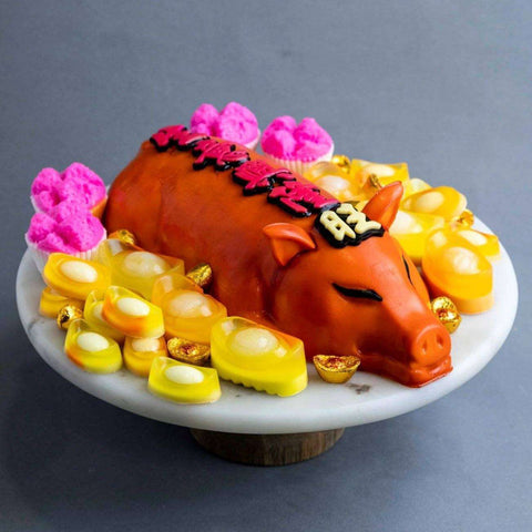 "Roasted Pork Jelly Cake 11"" - Jelly Cakes - Jerri Home - - Eat Cake Today - Birthday Cake Delivery - KL/PJ/Malaysia"
