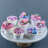 Roses Are Pink Cupcakes - Cupcakes - The Buttercake Factory - - Eat Cake Today - Birthday Cake Delivery - KL/PJ/Malaysia
