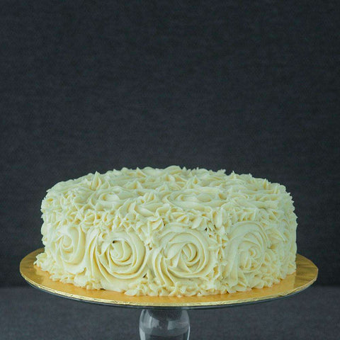 "Rosette Cake 8"" - Sponge Cake - Sift & Whisk - - - - Eat Cake Today - Birthday Cake Delivery - KL/PJ/Malaysia"