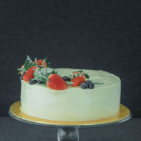 "Rustic Carrot Cake 8"" - Sponge Cake - Sift & Whisk - - - - Eat Cake Today - Birthday Cake Delivery - KL/PJ/Malaysia"