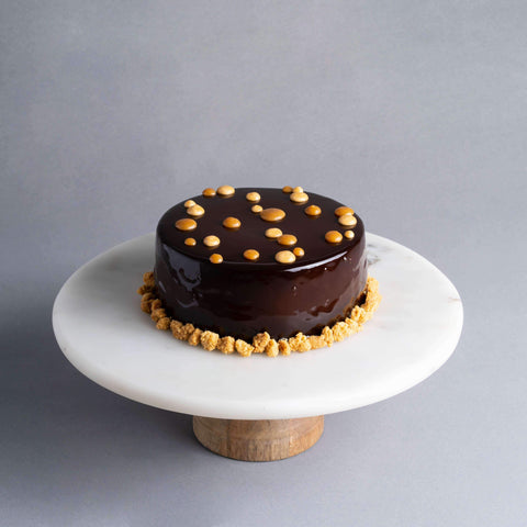 Salted Caramel Cake - Salted Caramel Chocolate Cake - Baker's Art - - Eat Cake Today - Birthday Cake Delivery - KL/PJ/Malaysia