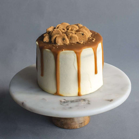 "Salted Caramel Celebration Cake 5.5"" - Butter Cake - Little Tee Cakes - - Eat Cake Today - Birthday Cake Delivery - KL/PJ/Malaysia"