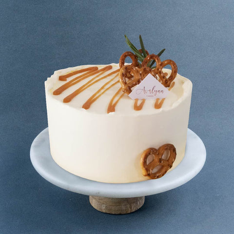 "Salted Caramel Chocolate Cake 6"" - Sponge Cakes - Avalynn Cakes - - Eat Cake Today - Birthday Cake Delivery - KL/PJ/Malaysia"