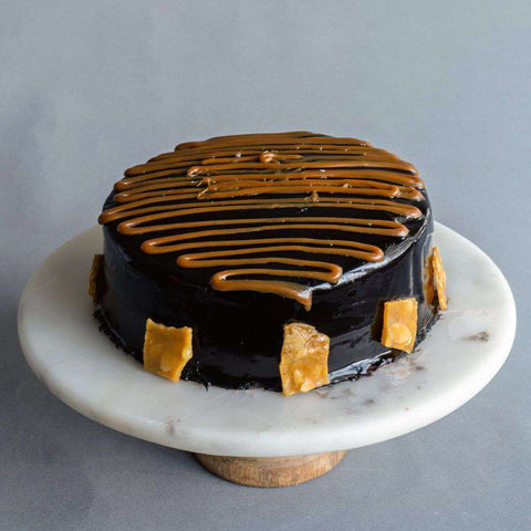 "Salted Caramel Chocolate Cake 8"" - Salted Caramel Chocolate Cake - Petiteserie Desserts - - - - Eat Cake Today - Birthday Cake Delivery - KL/PJ/Malaysia"