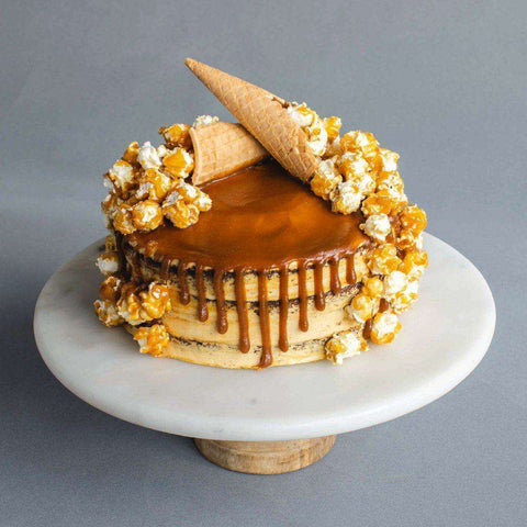 Salted Caramel Ice Cream Cake 7 Eat Today Birthday Delivery