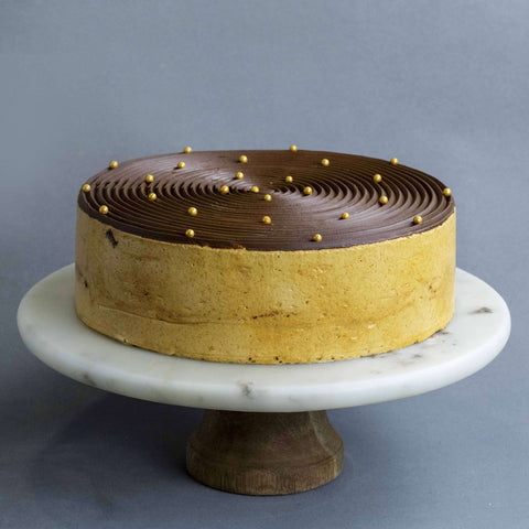 Salted Caramel Mousse Cake - Mousse Cake - Cake Tella - - Eat Cake Today - Birthday Cake Delivery - KL/PJ/Malaysia