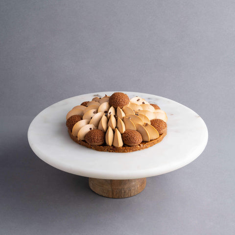 "Salted Caramel Saint-Honore Tart 6.5"" - Pastry - Lachér Patisserie - - Eat Cake Today - Birthday Cake Delivery - KL/PJ/Malaysia"