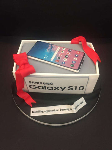 Samsung Mobile Phone Cake - Customized Cakes - B'Sweetbites - - Eat Cake Today - Birthday Cake Delivery - KL/PJ/Malaysia