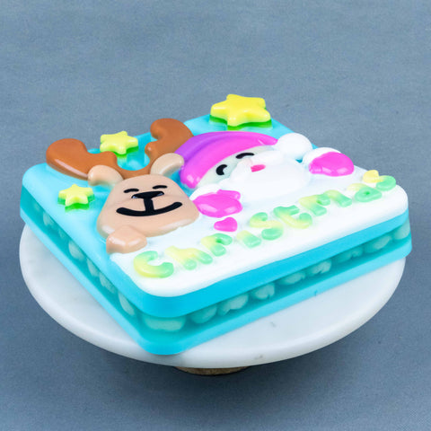 Santa & Reindeer Jelly Cake - Jelly Cakes - Jerri Home - - Eat Cake Today - Birthday Cake Delivery - KL/PJ/Malaysia