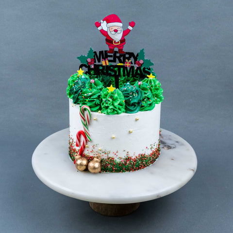 Santa's Christmas Tree Cake - Buttercakes - In The Clouds Cakes - - Eat Cake Today - Birthday Cake Delivery - KL/PJ/Malaysia
