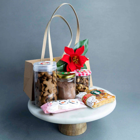 Santa's Goodies Box - - Project Cake Therapy - - Eat Cake Today - Birthday Cake Delivery - KL/PJ/Malaysia