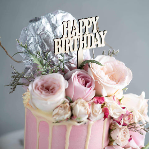 "Secret Garden Cake 4"" - Designer Cake - The Buttercake Factory - - Eat Cake Today - Birthday Cake Delivery - KL/PJ/Malaysia"