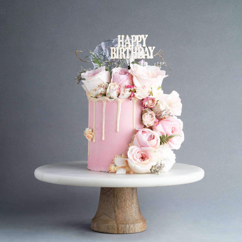 "Secret Garden Cake 4"" - Designer Cake - The Buttercake Factory - - - - Eat Cake Today - Birthday Cake Delivery - KL/PJ/Malaysia"