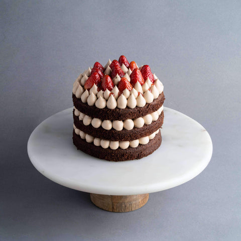 "Simply Chocolate Cake 7"" - Chocolate Cake - Baker's Art - - Eat Cake Today - Birthday Cake Delivery - KL/PJ/Malaysia"