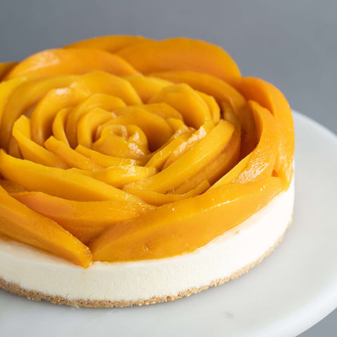 Sinful Mango Cake - Cheesecakes - Purple Monkey - - Eat Cake Today - Birthday Cake Delivery - KL/PJ/Malaysia
