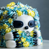 "Slothing Beauty Cake 4"" - Designer Cake - The Buttercake Factory - - Eat Cake Today - Birthday Cake Delivery - KL/PJ/Malaysia"
