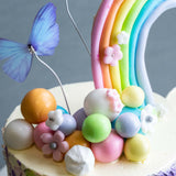 Somewhere Over The Rainbow Cake - Designer Cakes - The Buttercake Factory - - Eat Cake Today - Birthday Cake Delivery - KL/PJ/Malaysia