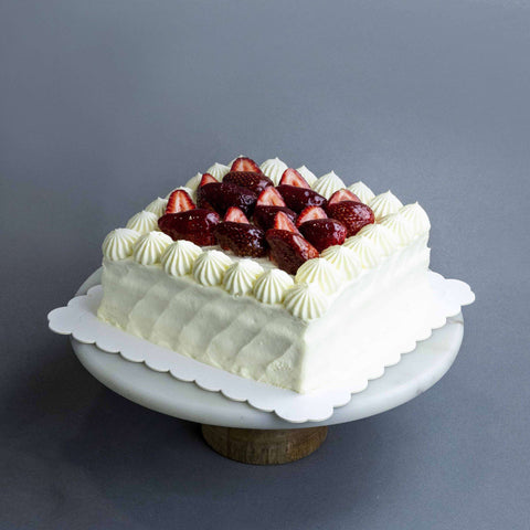 "Strawberry Shortcake 7"" - Fruits Cake - Lachér Patisserie - - Eat Cake Today - Birthday Cake Delivery - KL/PJ/Malaysia"