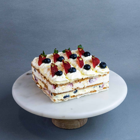 Summer Berries Icebox Cake - Fruit Cakes - Butter Grail - - Eat Cake Today - Birthday Cake Delivery - KL/PJ/Malaysia