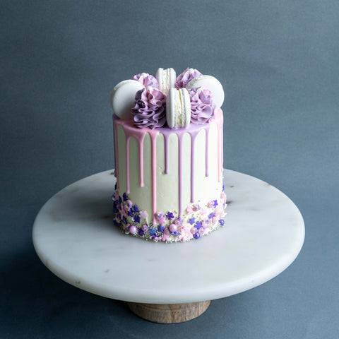 "Sweet Pea Cake 4"" - Designer Cake - The Buttercake Factory - - Eat Cake Today - Birthday Cake Delivery - KL/PJ/Malaysia"