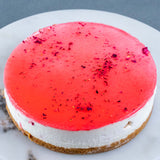 "The Emperor's Romance Lychee Cheesecake 7"" - - Cat & The Fiddle - - Eat Cake Today - Birthday Cake Delivery - KL/PJ/Malaysia"