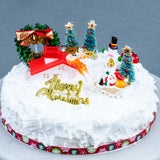 "The Historic Christmas Cake 8"" - Fruit Cakes - Kinmen Patisserie - - Eat Cake Today - Birthday Cake Delivery - KL/PJ/Malaysia"
