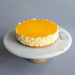 """The Russian Whiskers Mango Cheesecake 9"""" (Pre-Sliced Cakes)"""