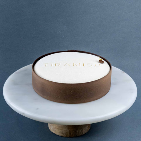 "Tiramisu Cake 7"" - Entremet Mousse Cake - Texture by C3 Lab - - Eat Cake Today - Birthday Cake Delivery - KL/PJ/Malaysia"
