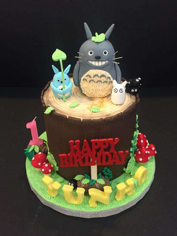 Totoro Cake 4.5 inch - Customized Cakes - B'Sweetbites - - Eat Cake Today - Birthday Cake Delivery - KL/PJ/Malaysia
